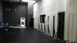 Demoing a gym wall
