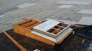 HVAC rooftop platfporms