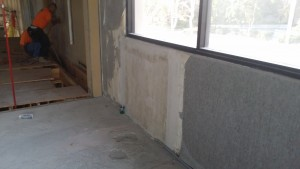 Concrete wall infill