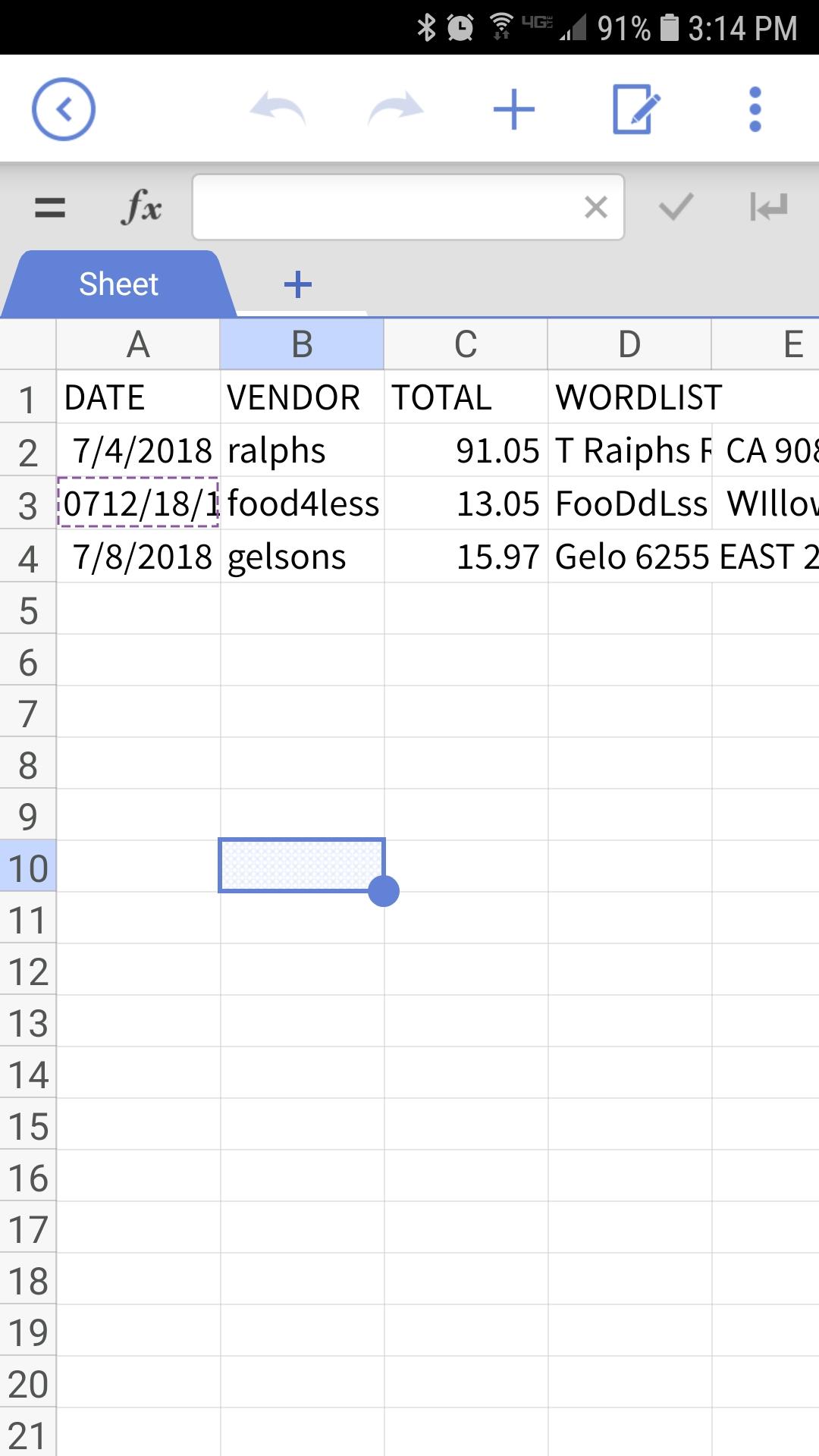 easy receipt receipt tracking app